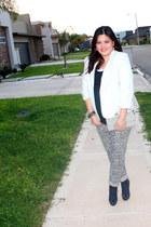 BCBG blazer - Bebe shoes - Charlotte Russe pants