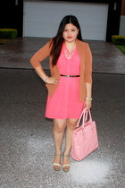salmon Rue 21 dress