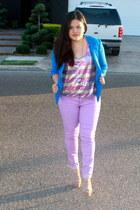 blue Charlotte Russe blazer