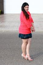 hot pink Rue 21 sweater