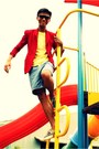 Navy-sperry-shoes-red-customized-blazer-yellow-giordano-shirt-blue-levis-s