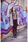 Chelsea-tba-boots-tan-leopard-forever-21-coat-oxblood-j-brand-jeans