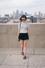 Silver-forever-21-sweater-dark-green-rebecca-minkoff-bag-black-aerie-shorts