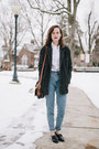 Gray-tweed-bdg-coat-sky-blue-mom-american-apparel-jeans