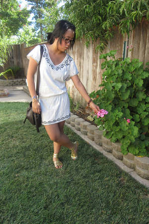 Forever21 dress - Urban Outfitters purse - Old Navy shoes - Omega accessories -