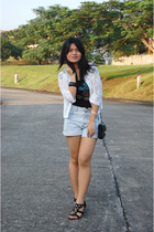 Custo Moda t-shirt - shorts - Janylin shoes - Topshop