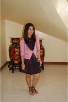 Mango - Zara dress - Topshop - Zara