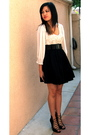Black-h-m-skirt-beige-macys-top-black-shoes