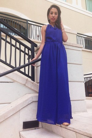 blue Accessorize dress
