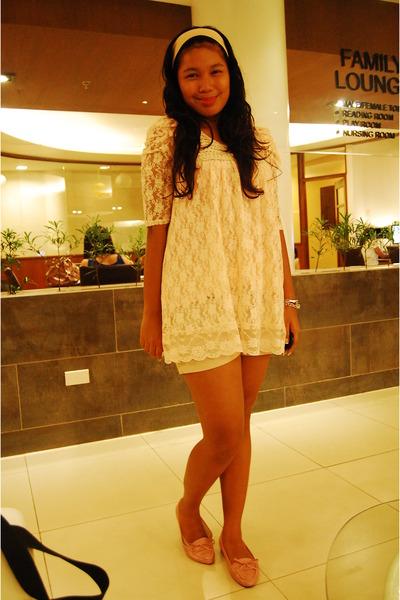 beige sugaritta blouse - pink random from Hong Kong shoes