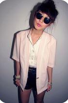 Vintage Pale Pink blazer