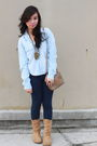 Blue-guess-top-blue-forever21-pants-brown-boots-brown-gucci-bag-gold-for