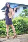 Beige-bkk-brand-vest-deep-purple-topshop-dress-beige-forever21-shoes
