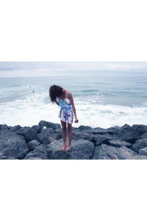 blue kmeador dress