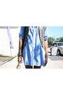 Blue-american-apparel-dress-brown-richard-chai-for-target-vest-brown-matt-be