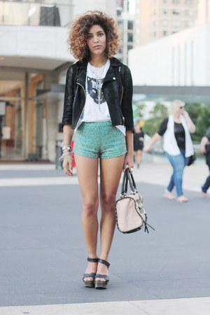 Topshop jacket - Topshop shorts