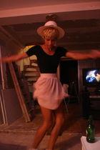 black American Apparel top - pink American Apparel skirt