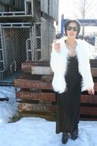 8020 shoes - Zara jacket - vintage top