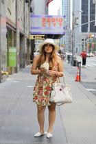Forever 21 dress - UO hat - Michael Kors bag - UO sandals