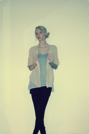 VJ Style blouse - H&M leggings - H&M top