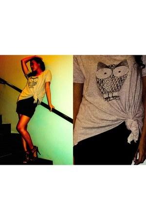 vintage shirt - Topshop skirt