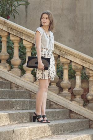 Zara shirt - Zara skirt