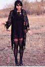 Black-vintage-coat-black-asos-dress-black-forever-21-tights