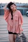 Light-brown-python-zambos-siega-bag-black-scalloped-urban-outfitters-shorts-