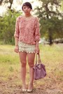 Light-purple-leather-overstock-bag-white-crochet-charlotte-russe-shorts-ligh