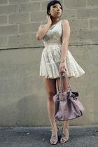 gray f21 dress