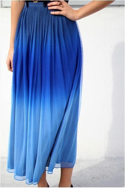 ombre dip dye Motel skirt