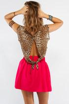 leopard print Tusc top