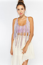 fringe Castles Couture top