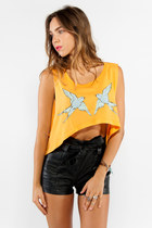 crop top Wildfox shirt