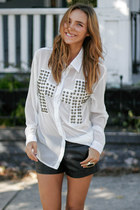 Reverse blouse