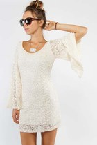 off white lace Tusc dress