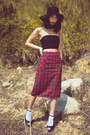 Ruby-red-ezzentric-topz-skirt-black-american-apparel-top