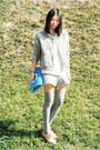 Silver-monki-jacket-blue-kate-spade-bag-silver-zara-socks