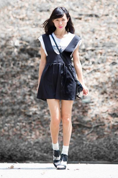 black 33 Field Trip dress - black 31 Phillip Lim bag - black Country Road heels