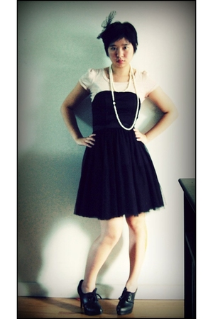 H&M dress - necklace - Target t-shirt - H&M shoes