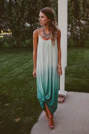 T&J Designs bracelet - Tobi dress - Shy Boutique necklace