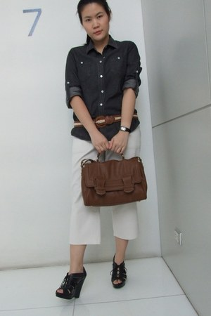 Zara bag - Aldo wedges