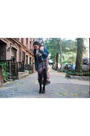 Urban Outfitters dress - Dooney & Bourke bag