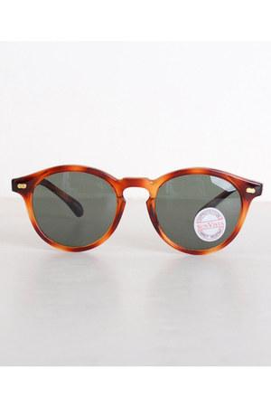 brown vintage sunglasses