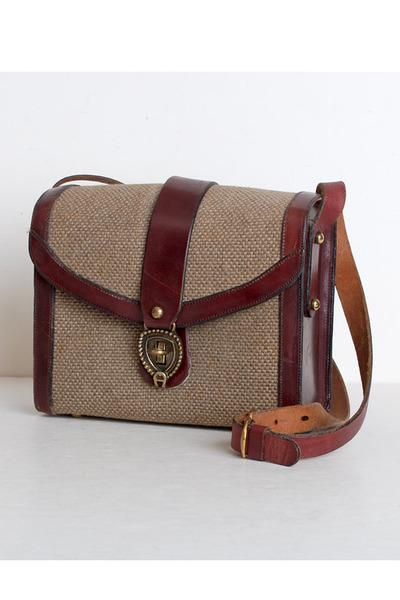 ca8565cd84b2 Brown Vintage Etienne Aigner Bags