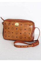 Brown-vintage-mcm-bag