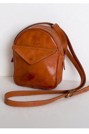 brown vintage IL BISONTE bag