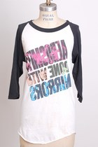 White-raglan-cotton-vintage-shirt