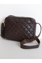 Brown Vintage Chanel Bags