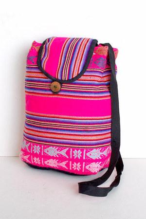 hot pink vintage bag
